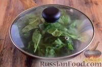 Фото приготовления рецепта: Рыбная запеканка со шпинатом - шаг №3