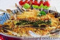 Фото приготовления рецепта: Рыбная запеканка со шпинатом - шаг №17