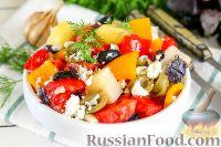 Фото к рецепту: Картофельный салат с оливками