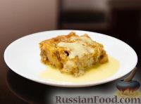 Фото к рецепту: Пудинг с хурмой