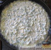Фото приготовления рецепта: А-ля хачапури на завтрак - шаг №6