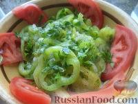 Фото к рецепту: Салат из зеленого перца