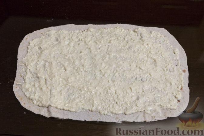 Рецепты из тонкого лаваша с адыгейским сыром