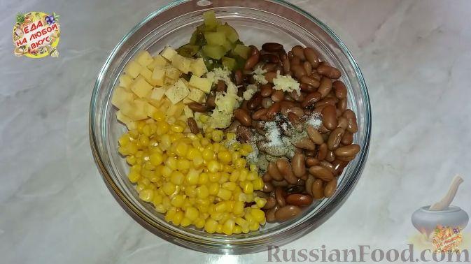 Фото приготовления рецепта: Картошка, запечённая с тыквой, в кефире - шаг №12