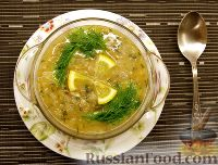 "Фото к рецепту: ""Слёзный"" суп, богатый репчатым луком"