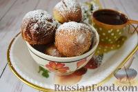 Фото к рецепту: Лаймовые пончики на сгущенном молоке