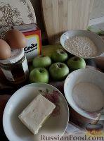 Фото приготовления рецепта: Медовый яблочный пирог - шаг №1