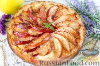 Фото к рецепту: Баварский яблочный пирог