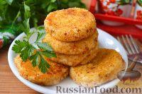 Фото к рецепту: Картофельно-творожные зразы с яйцом и луком