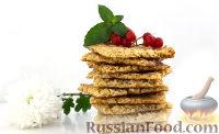 """Фото к рецепту: """"Кружевное"""" овсяное печенье"""