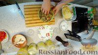 """Фото приготовления рецепта: Пирог """"Булошный"""" (из отдельных булочек с начинкой) - шаг №4"""