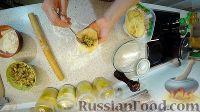 """Фото приготовления рецепта: Пирог """"Булошный"""" (из отдельных булочек с начинкой) - шаг №5"""