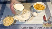 Фото приготовления рецепта: Кукурузные мини-пончики - шаг №2