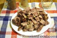 Фото приготовления рецепта: Смаженина из свинины (в мультиварке) - шаг №5