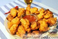 Фото приготовления рецепта: Кукурузные мини-пончики - шаг №5
