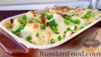 Фото к рецепту: Цветная капуста, запеченная под сыром