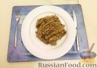 Фото к рецепту: Ризотто с вешенками и сушеными белыми грибами