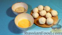 Фото приготовления рецепта: Рисовые шарики с креветками и творожным сыром - шаг №4