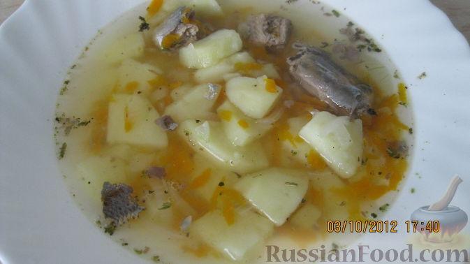 Рецепт Суп диетический с сайрой