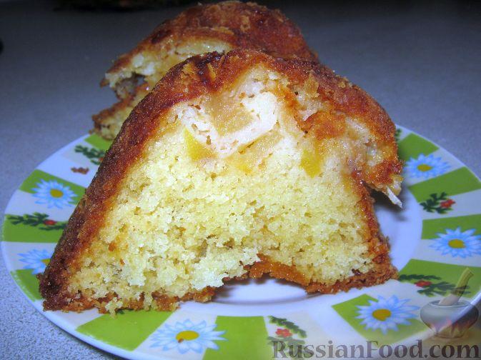 Рецепт Яблочный пирог (шарлотка)
