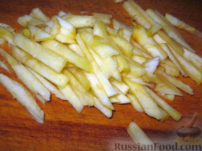 Фото приготовления рецепта: Салат из тыквы - шаг №6
