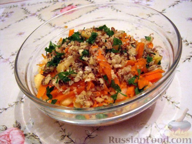 Фото приготовления рецепта: Салат из тыквы - шаг №9