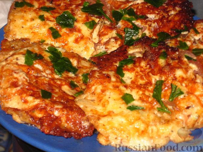 Фото к рецепту: Помидоры в сыре
