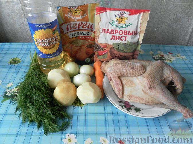 рецепт вкусного куриного супа  sioopoervikja