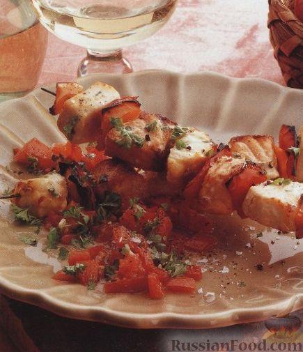 Рецепт Шашлыки из морской рыбы