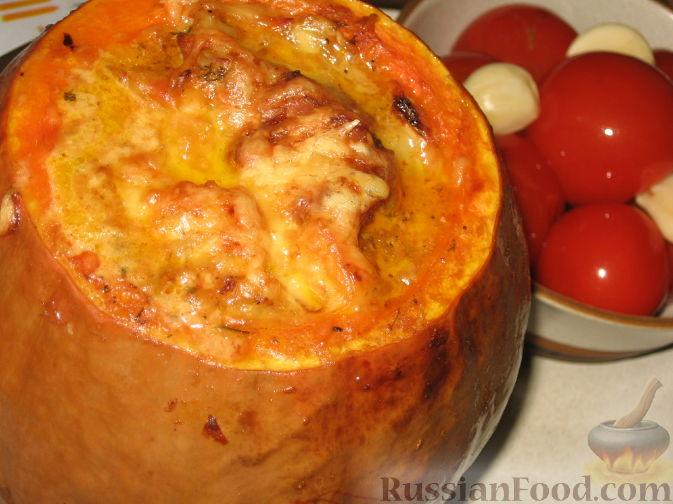 Рецепт Свиное рагу в тыкве