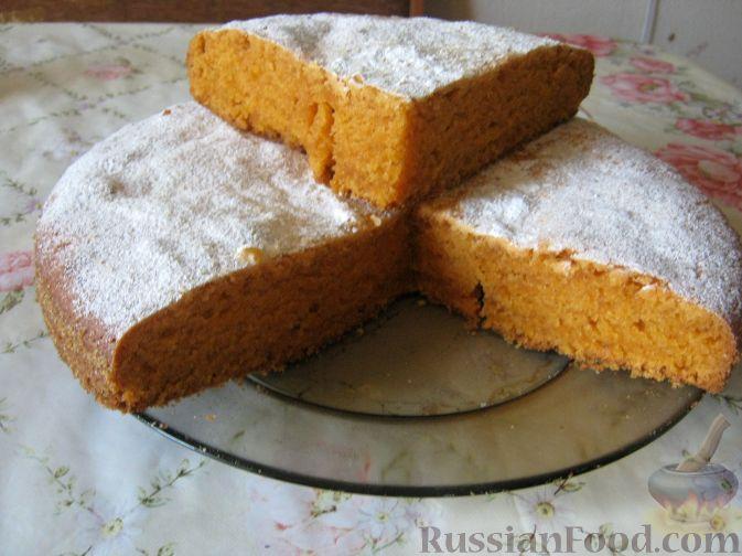 Рецепт Томатный сладкий пирог