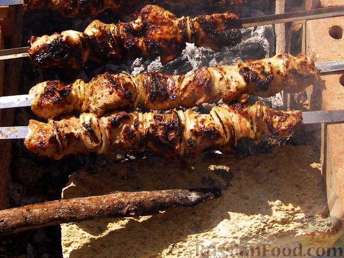 Рецепт Шашлык в маринаде из майонеза