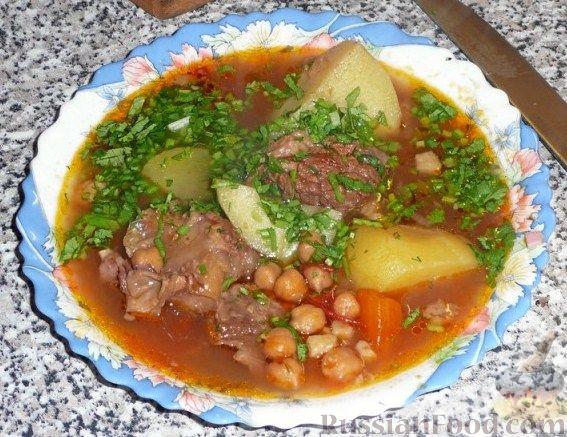 Рецепт Абгушт – иранский шурпо? Рецепт от Клары