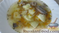 Фото к рецепту: Суп диетический с сайрой