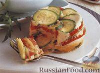 Фото к рецепту: Цуккини, запеченные с помидорами и яйцом
