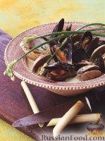 Фото к рецепту: Моллюски с кокосовым соусом