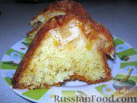 Фото к рецепту: Яблочный пирог (шарлотка)