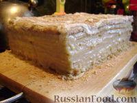 Фото к рецепту: Торт Медовик