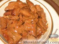 Фото к рецепту: Жареная маринованная говядина