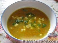Фото к рецепту: Суп с чечевицей