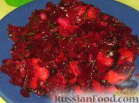 Фото к рецепту: Салат Свекольный