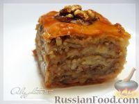 Фото к рецепту: Пахлава