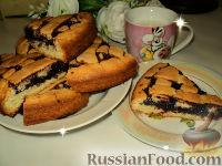 Фото к рецепту: Пирог с черничным джемом