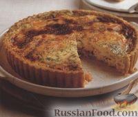 Фото к рецепту: Картофельный пирог с рыбной начинкой