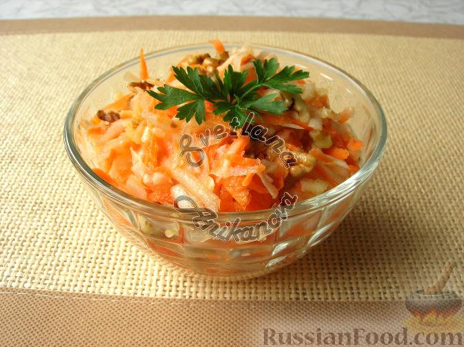 Фото к рецепту: Салат «От 100 хворей» из топинамбура