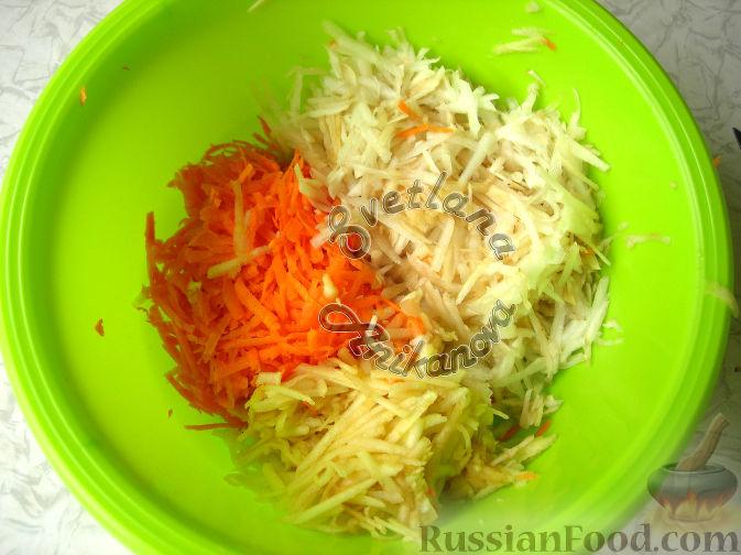 Фото приготовления рецепта: Салат «От 100 хворей» из топинамбура - шаг №4
