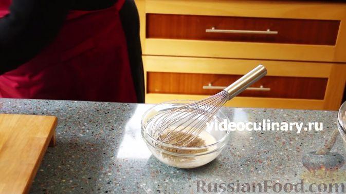 """Фото приготовления рецепта: Рыбный салат """"Лакомка"""" - шаг №3"""