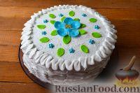 Фото к рецепту: Торт с маком, орехами и изюмом