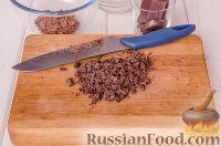 Фото приготовления рецепта: Шоколадный пирог с вишней - шаг №10