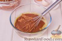 Фото приготовления рецепта: Шоколадный пирог с вишней - шаг №14